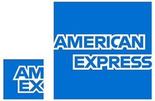 AMEX american express logos